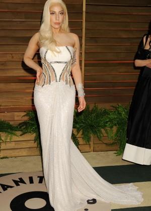 Lady Gaga: Oscar 2014 - Vanity Fair Party -17