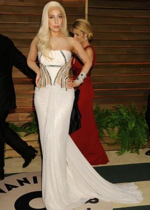 Lady Gaga: Oscar 2014 - Vanity Fair Party -18