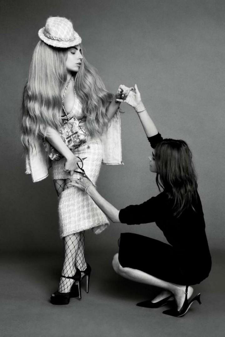 Lady Gaga, Penelope Cruz & Linda Evangelista Cover Bazaar US Magazine (September 2014)