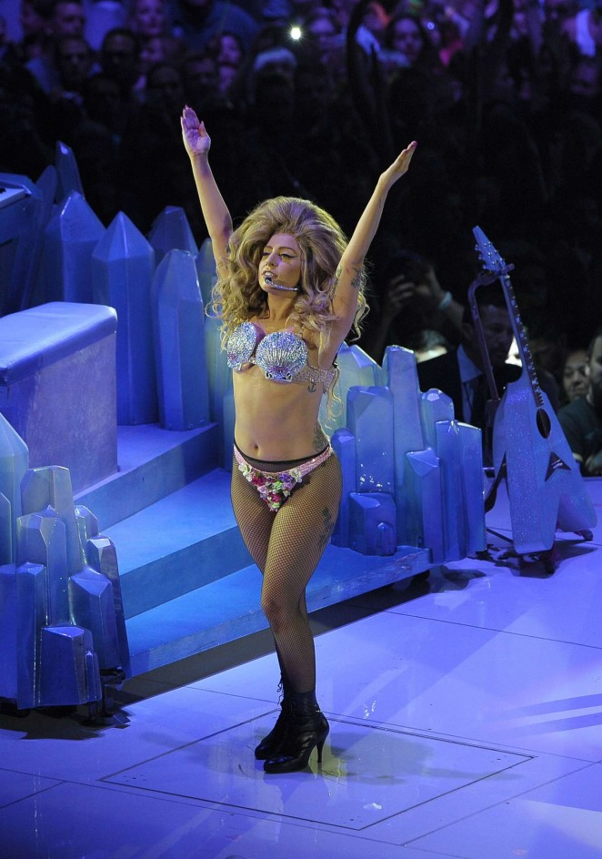 Lady Gaga - Performs Live at ArtRave: The Artpop Ball Tour 2014 in Amsterdam