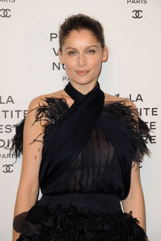 Laetitia Casta attends 'La Petite Veste Noire' Book Launch by Karl Lagerfeld at Grand Palais Paris