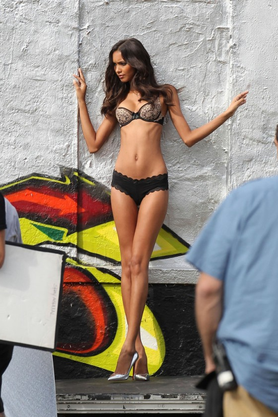 Lais Ribeiro – VS photoshoot in Miami -01