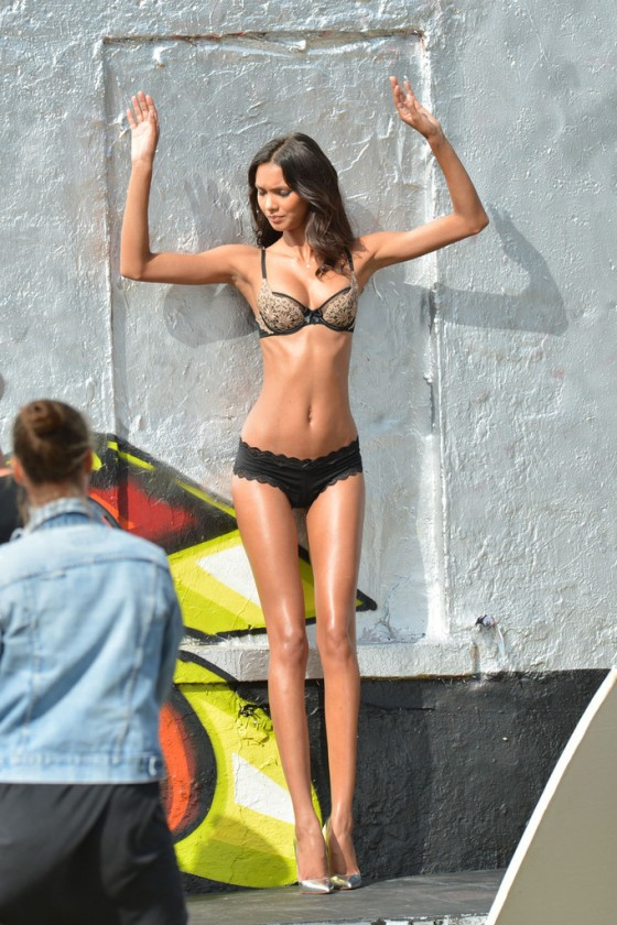 Lais Ribeiro – VS photoshoot in Miami -03