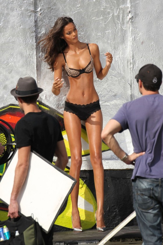 Lais Ribeiro – VS photoshoot in Miami -06