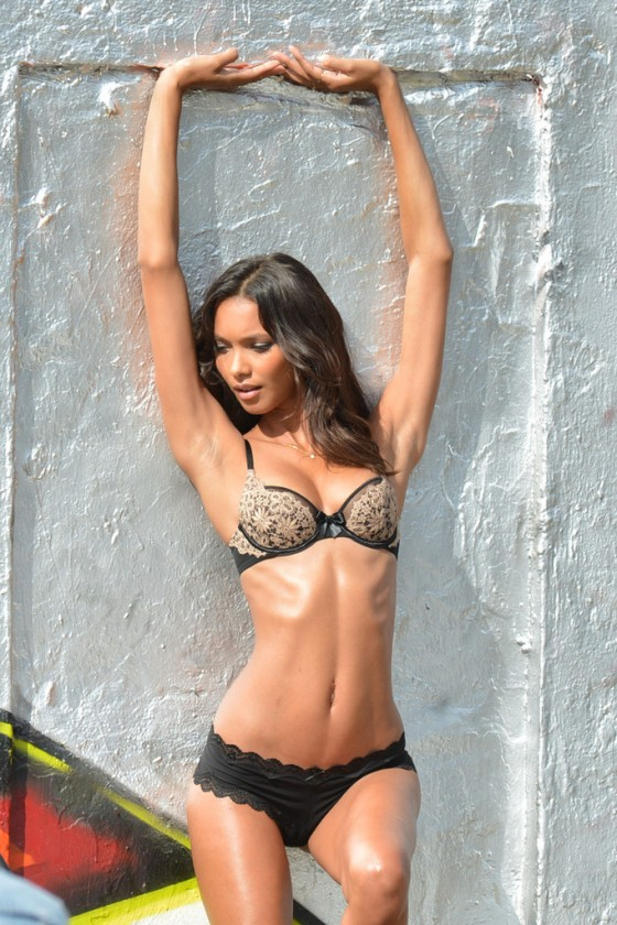 Lais Ribeiro – VS photoshoot in Miami -07