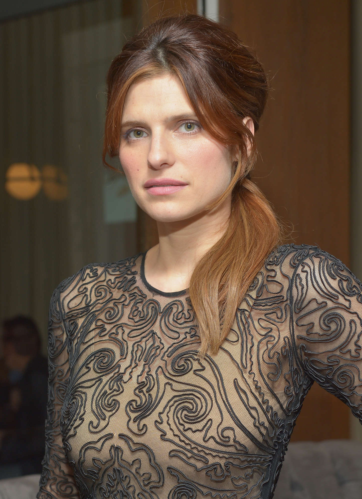 lake bell at the una notte verde event  02   gotceleb