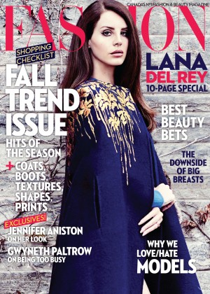 Lana Del Rey - Fashion Magazine (Canada September 2014)