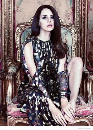 Lana Del Rey: Fashion Canada 2014 -07
