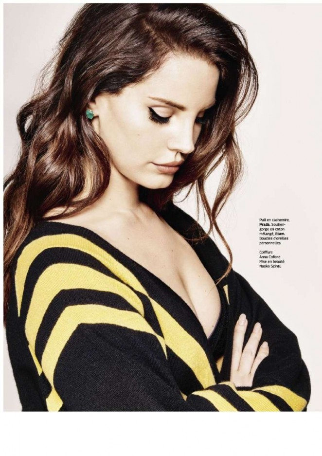 Lana Del Rey - Grazia France Magazine (December 2014)