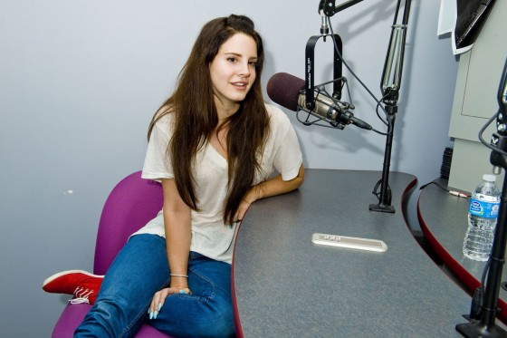 Lana Del Rey - KIIS FM Studios in Los Angeles-01