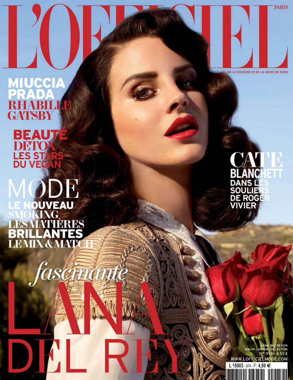 Lana Del Rey 2013 : Lana Del Rey – LOfficiel Paris – April 2013 -02