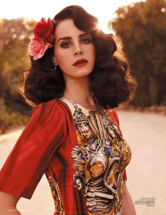 Lana Del Rey 2013 : Lana Del Rey – LOfficiel Paris – April 2013 -08