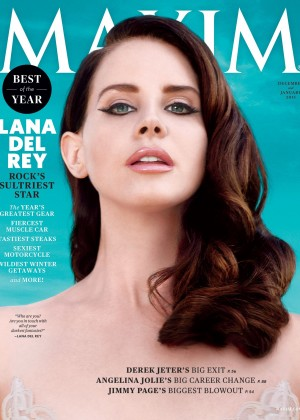 Lana Del Rey - Maxim Magazine Cover (December/January 2014/2015)