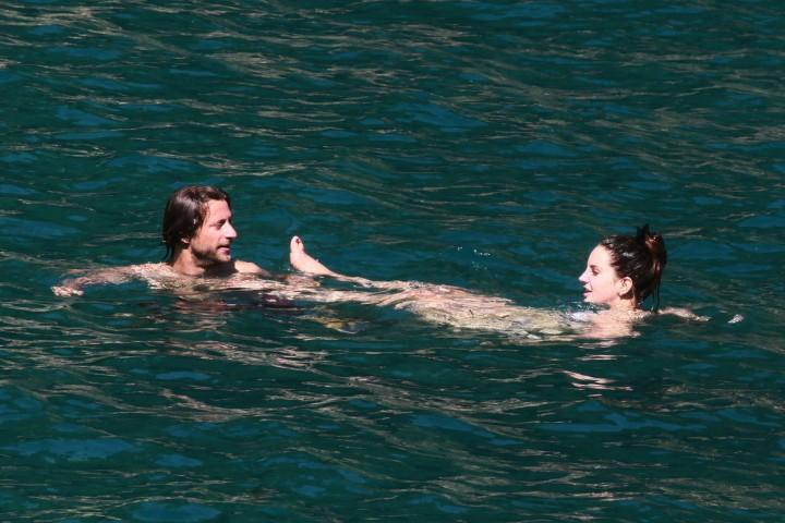 Lana Del Rey Wearing Bikini -11