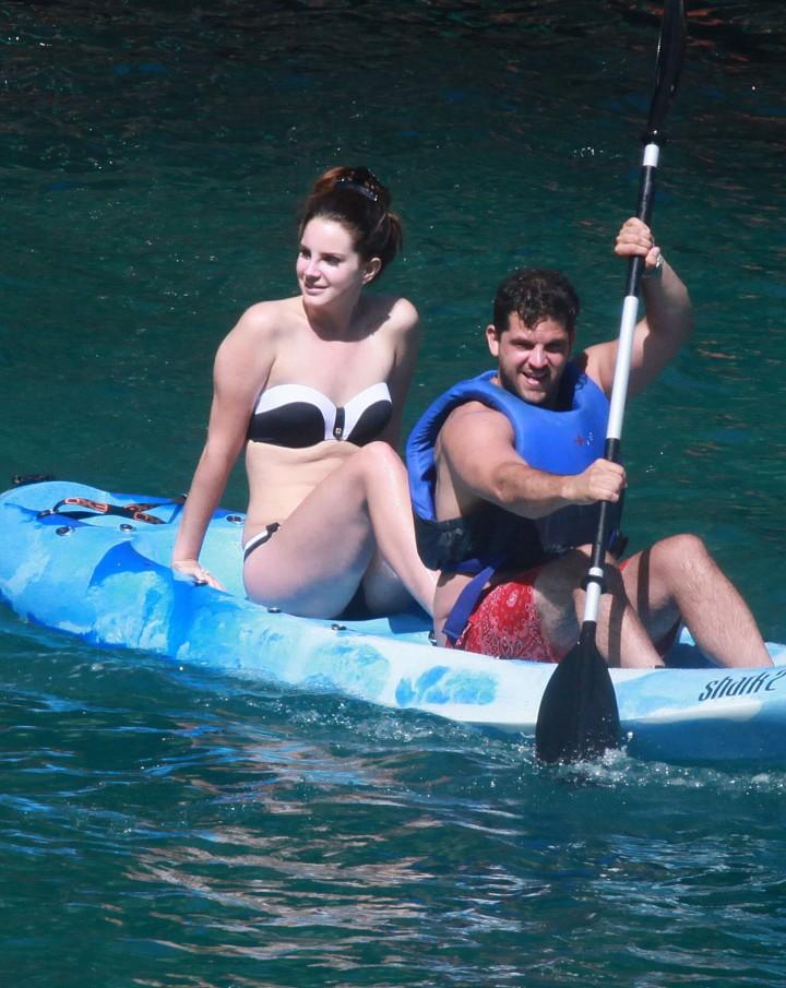 Lana Del Rey Wearing Bikini -19