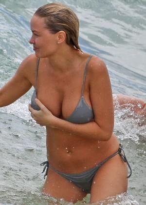 Lara Bingle in a Bikini in Hawaii-06