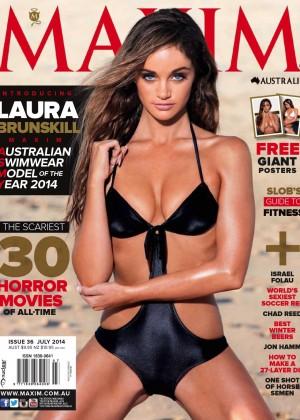 Laura Brunskill: Maxim Australia 2014 -04