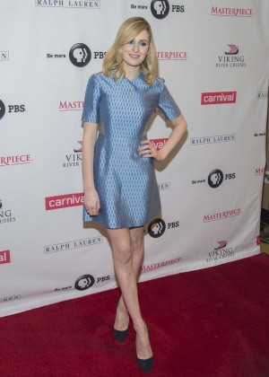 "Laura Carmichael - ""Downton Abbey"" Season Five Cast Photo Call in New York City"
