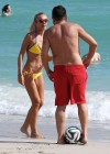 Laura Cremaschi Bikini Photos: 2014 playing soccer in Miami -08