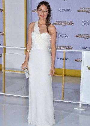 Laura Haddock - 'The Hunger Games: Mockingjay - Part 1' Premiere in LA