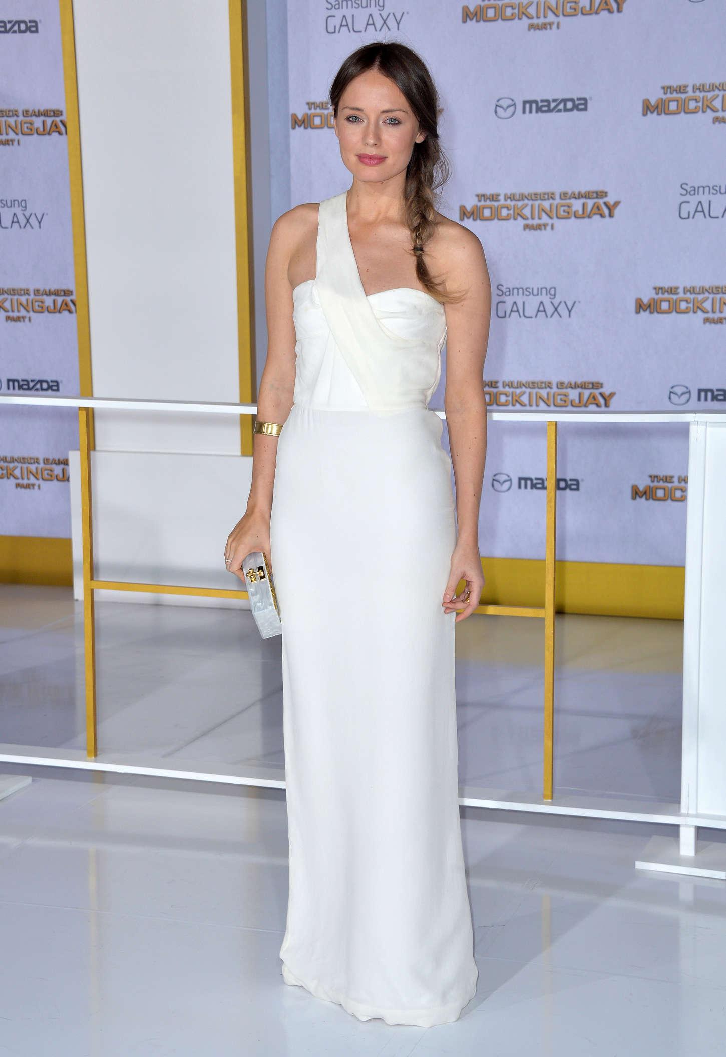 Laura Haddock: The Hunger Games Mockingjay Part 2 UK