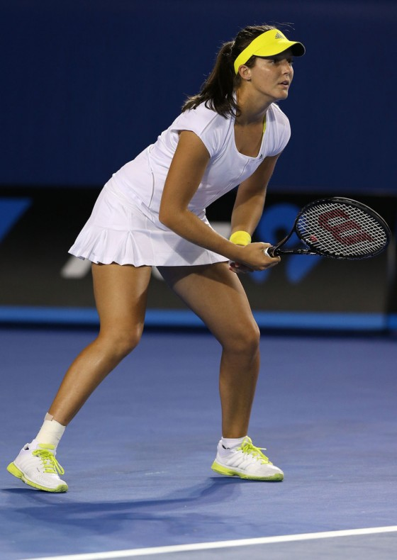 Laura Robson - Australian Open 2013 in Melbourne - Day 4