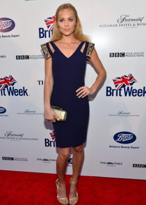 Laura Vandervoort: 2014 BritWeek -04