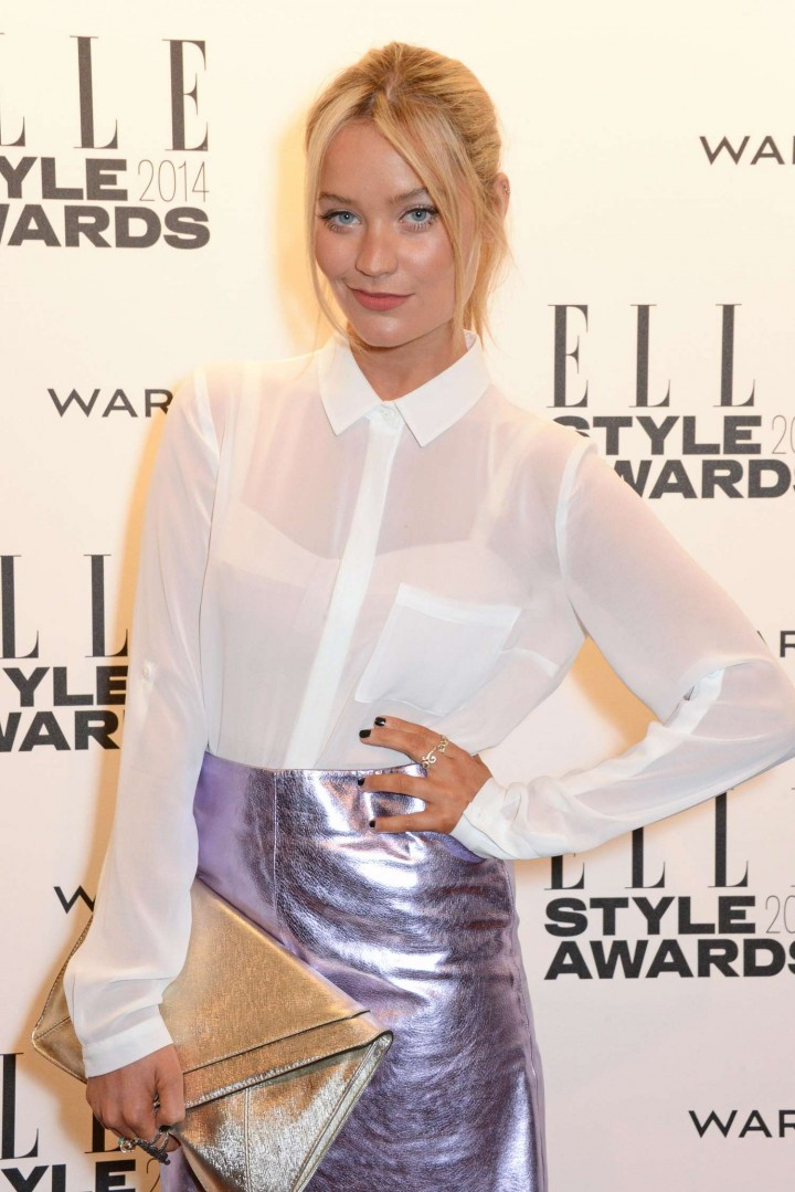 Laura Whitmore – 2014 Elle Style Awards in London
