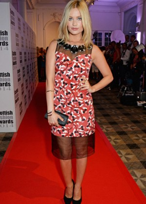 Laura Whitmore - 2014 Scottish Fashion Awards in London