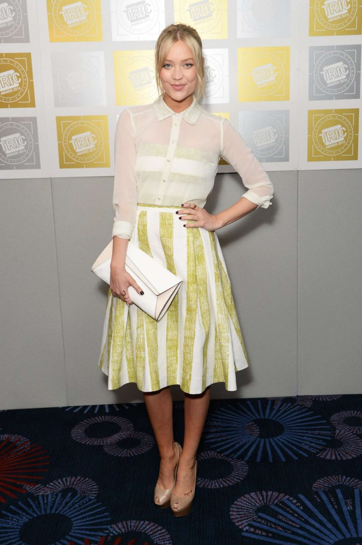 Laura Whitmore – 2014 TRIC Awards in London