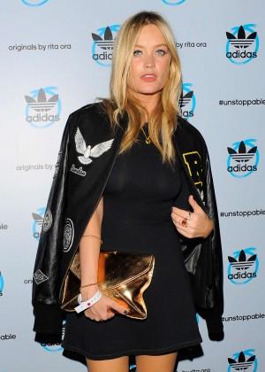 Laura Whitmore at Adidas Originals By Rita Ora Global Launch in London