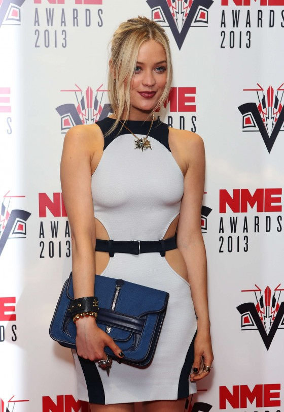 Laura Whitmore - NME Awards 2013 -02
