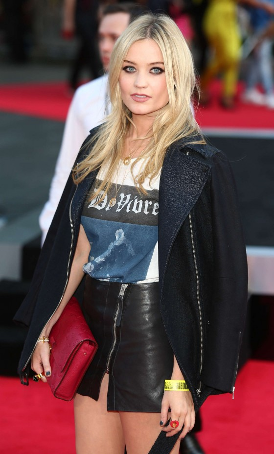 "Laura Whitmore – ""One Direction: This Is Us"" Premiere in London"