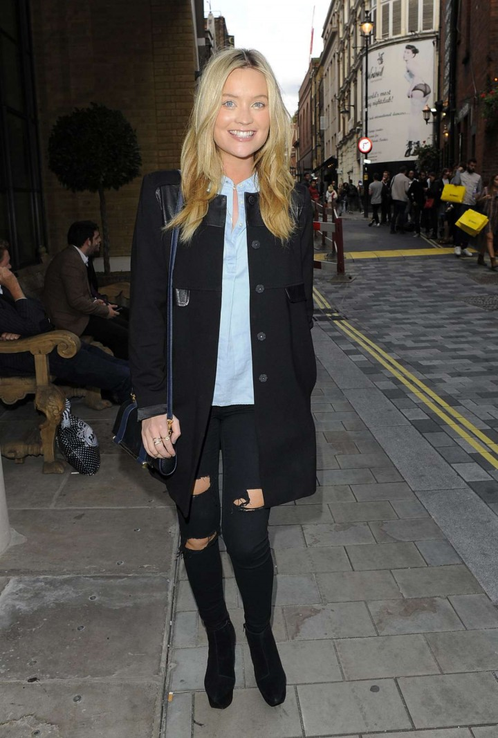 "Laura Whitmore - Screening ""Sin City: A Dame To Kill For"" in London"
