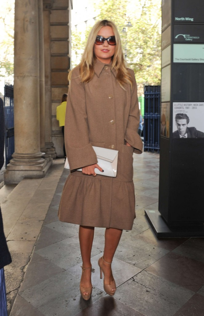 Laura Whitmore: Somerset House for London Fashion Week 2014 -04