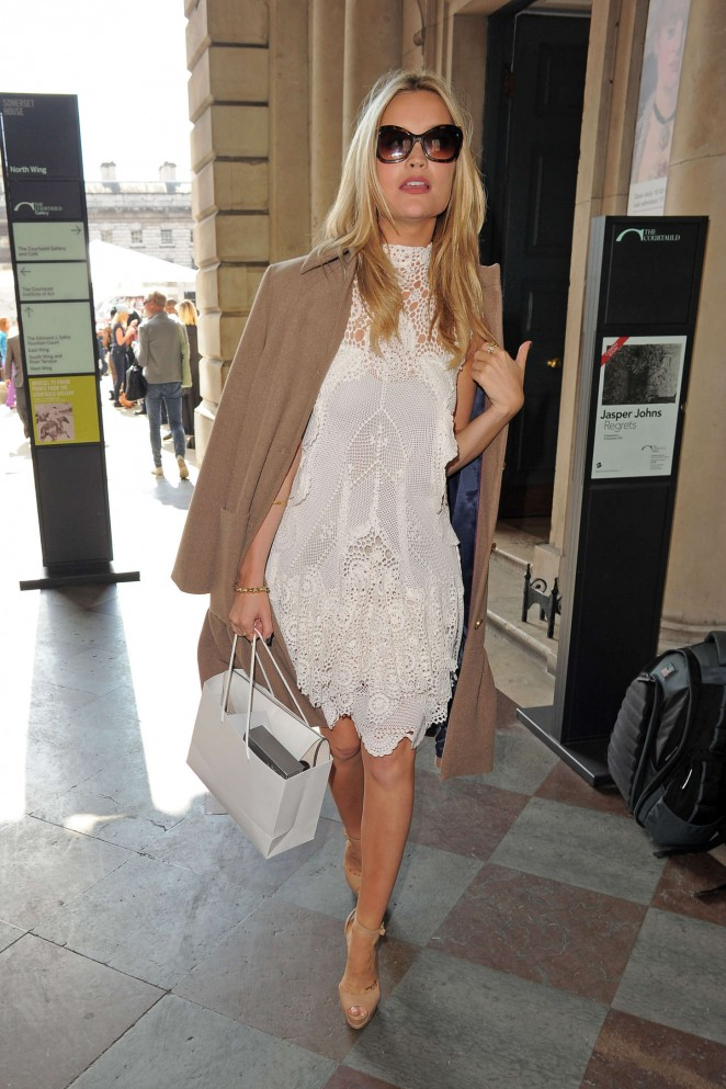Laura Whitmore: Somerset House for London Fashion Week 2014 -06