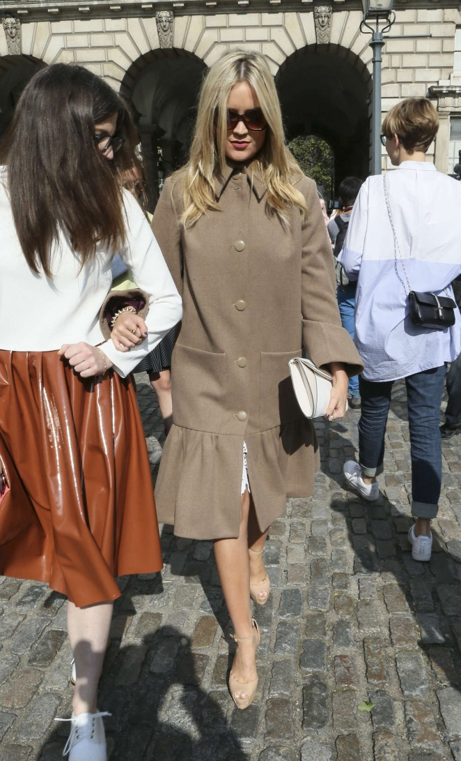 Laura Whitmore: Somerset House for London Fashion Week 2014 -07