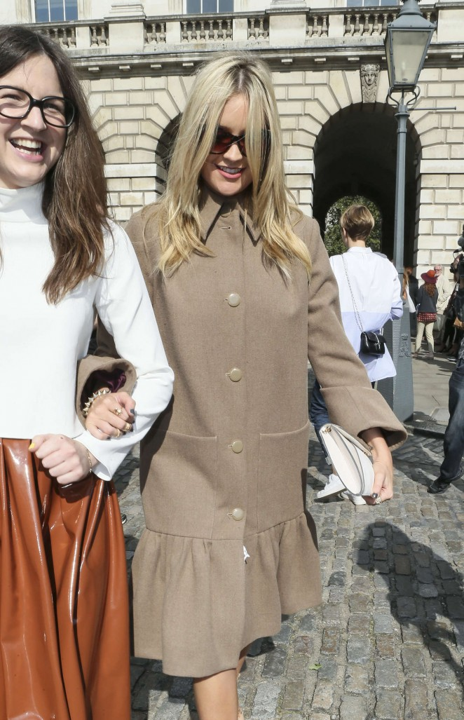 Laura Whitmore: Somerset House for London Fashion Week 2014 -12