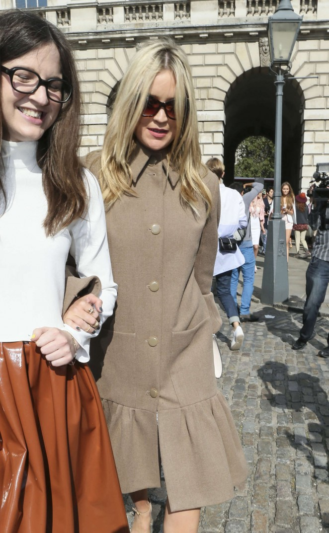 Laura Whitmore 2014 : Laura Whitmore: Somerset House for London Fashion Week 2014 -13