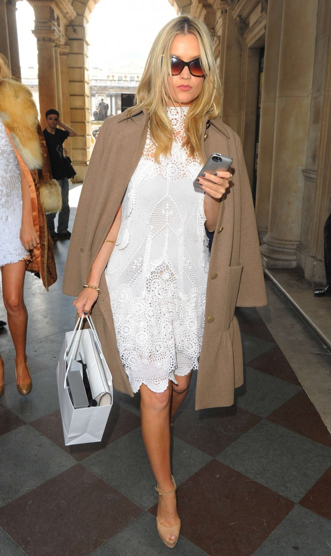 Laura Whitmore: Somerset House for London Fashion Week 2014 -21