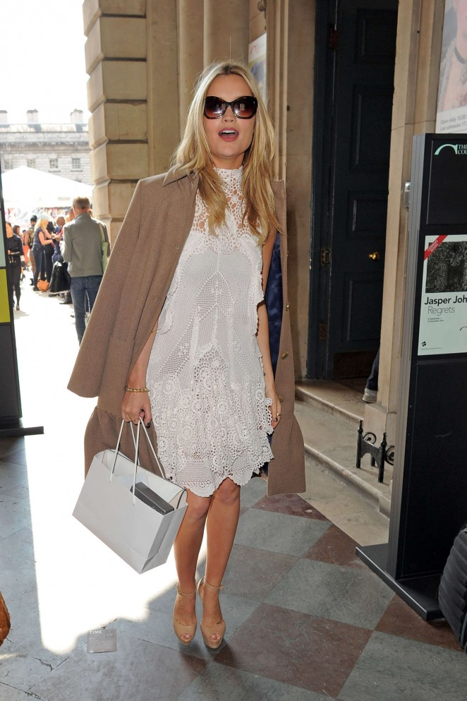 Laura Whitmore: Somerset House for London Fashion Week 2014 -22