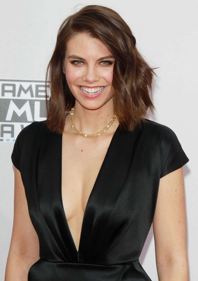 Lauren Cohan - 2014 American Music Awards in LA