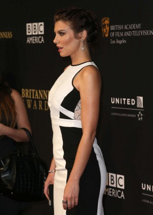 Lauren Cohan - BAFTA Los Angeles Jaguar Britannia Awards in Beverly Hilla
