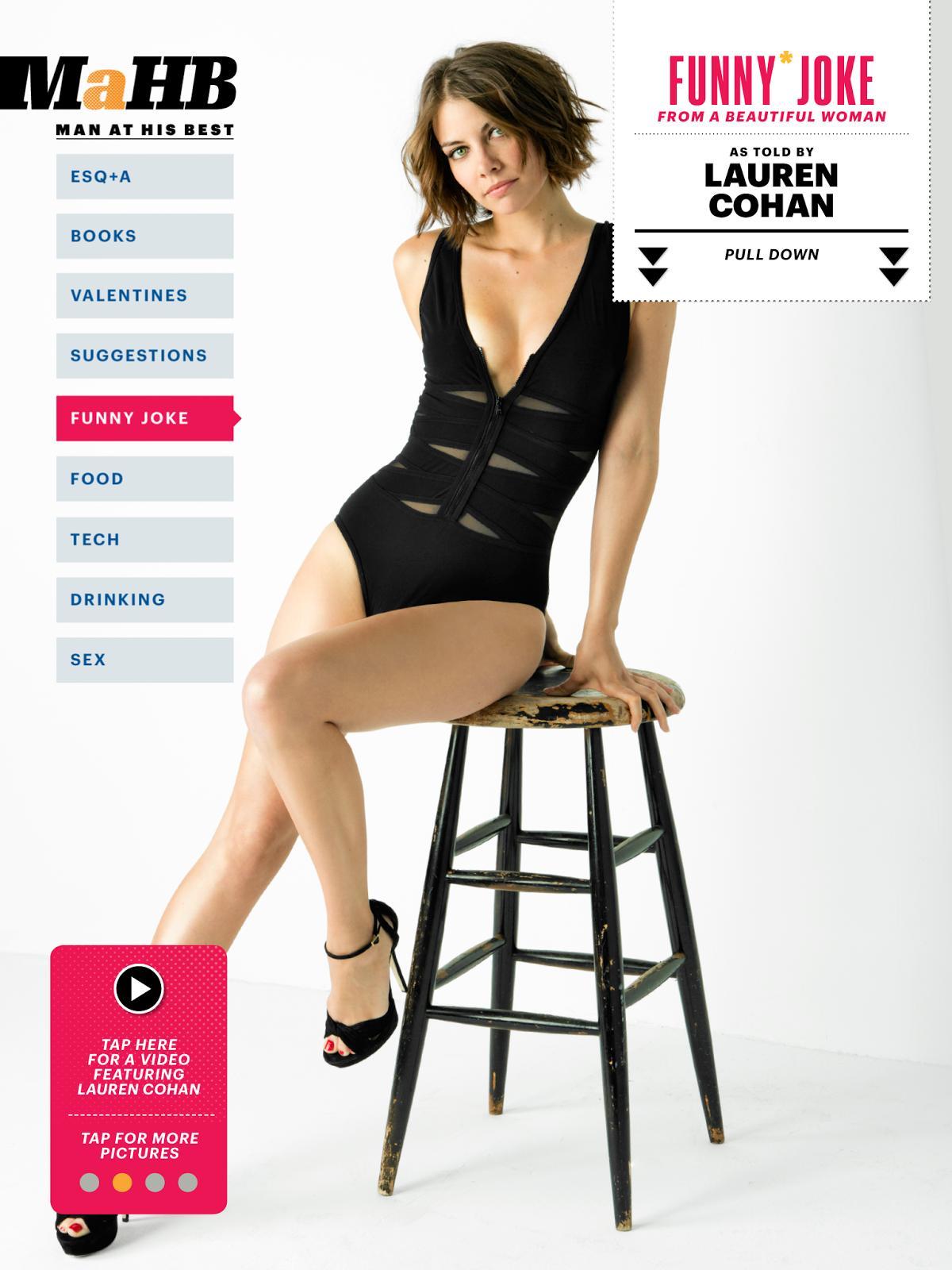 Lauren Cohan – Esquire – February 2013-01 - Full Size