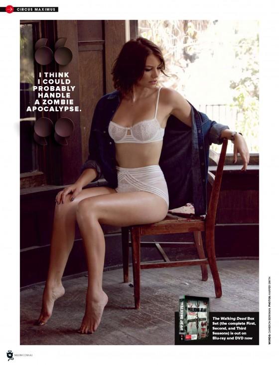 Lauren Cohan: Maxim Australia 2014 -04