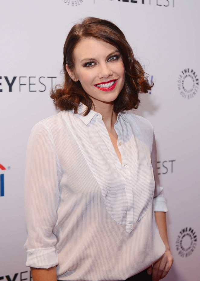 Lauren Cohan: The Walking Dead Event on Paleyfest -01