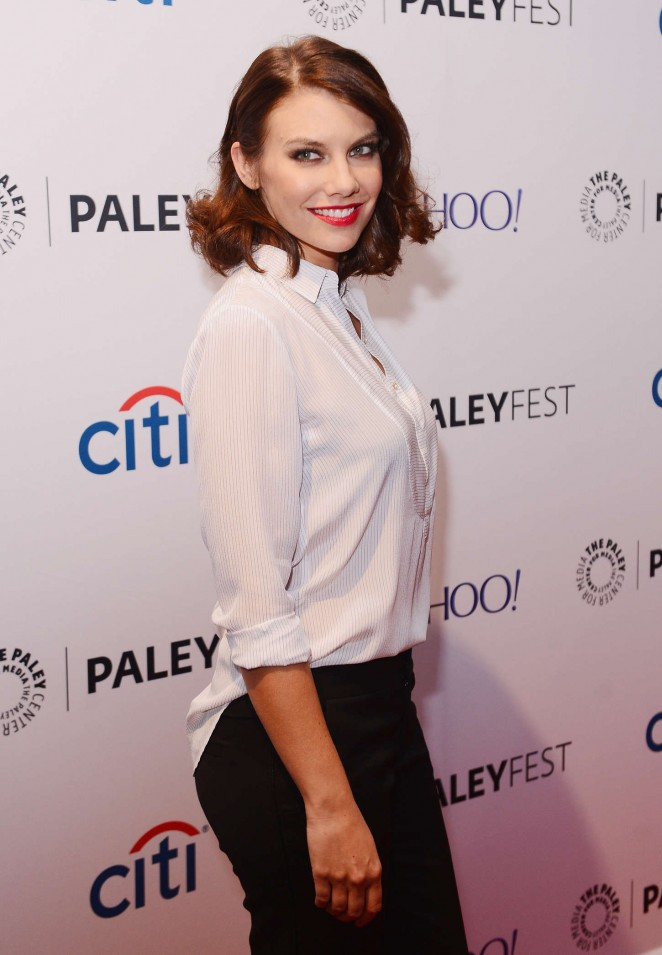 Lauren Cohan - Paleyfest Presents The Walking Dead Event in NY