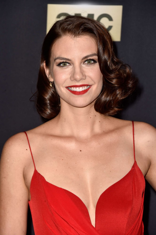 "Lauren Cohan - ""The Walking Dead"" Season Five Premiere in Universal City"