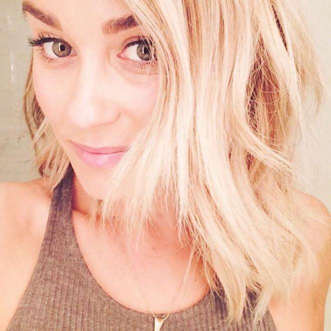 Lauren Conrad Short Haircut – Instagram Pic