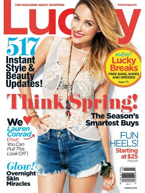 Lauren Conrad - Lucky Magazine